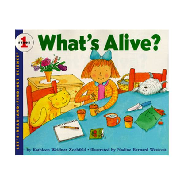 Let's Read And Find Out Science Level 1 : What's Alive (Paperback)