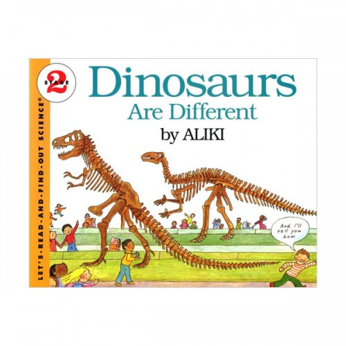 RL 3.0 : Let's Read And Find Out Science 2 : Dinosaurs Are Different (Paperback)