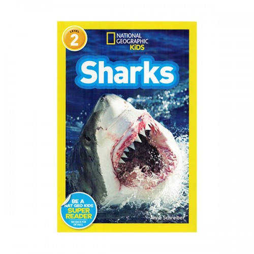 RL 3.0 : National Geographic Readers Level 2 : Sharks! (Paperback)