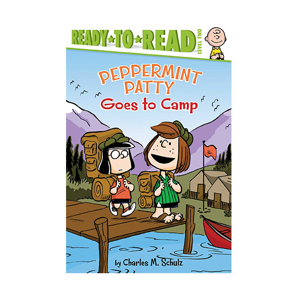 RL 3.0 : Ready to Read 2 : Peanuts : Peppermint Patty Goes to Camp (Paperback)