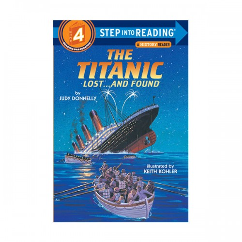 RL 3.0 : Step Into Reading 4 : The Titanic: Lost...and Found (Paperback)