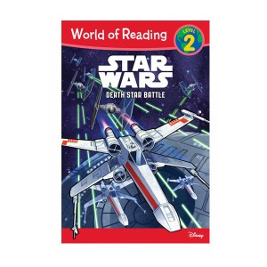 RL 3.0 : World of Reading Level 2 : Star Wars Death Star Battle (Paperback)