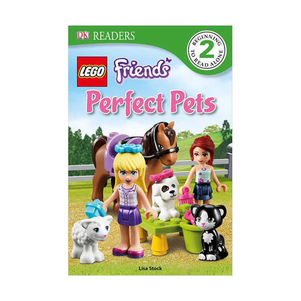 DK Readers Level 2 : LEGO Friends Perfect Pets (Paperback)