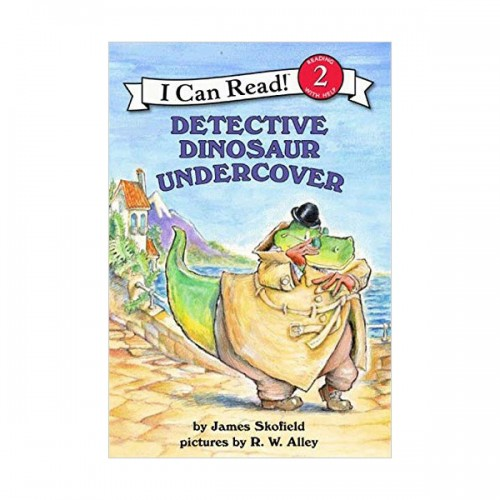 I Can Read Book Level 2 : Detective Dinosaur Undercover (Paperback)