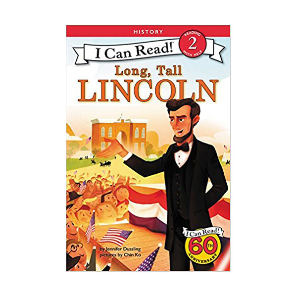 RL 3.1 : I Can Read Book Level 2 : Long, Tall Lincoln (Paperback)