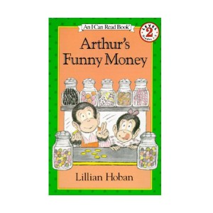 RL 3.1 : I Can Read Level 2 : Arthur's Funny Money (Paperback)