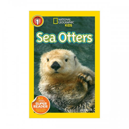 RL 3.1 : National Geographic Kids Readers Level 1 : Sea Otters (Paperback)