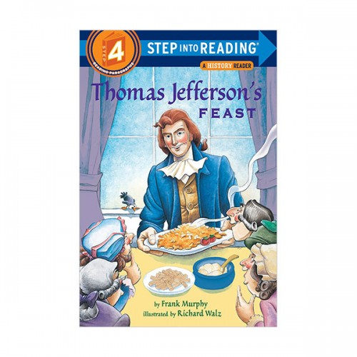 RL 3.1 : Step Into Reading 4 : Thomas Jefferson's Feast (Paperback)