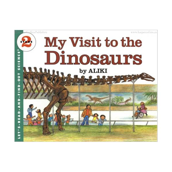 RL 3.2 : Let's Read And Find Out Science 2 : My Visit to the Dinosaurs (Paperback)