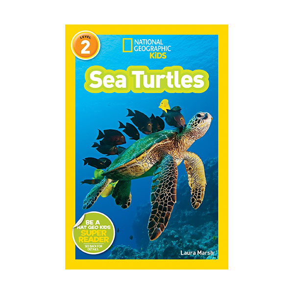 RL 3.2 : National Geographic Kids Readers Level 2 : Sea Turtles (Paperback)