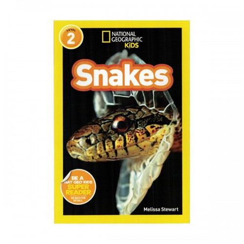 RL 3.2 : National Geographic Readers Level 2 : Snakes! (Paperback)