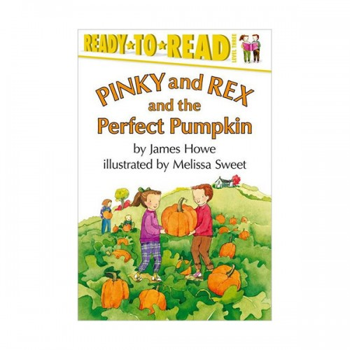 RL 3.2 : Ready To Read 3 : Pinky and Rex and the Perfect Pumpkin (Paperback)