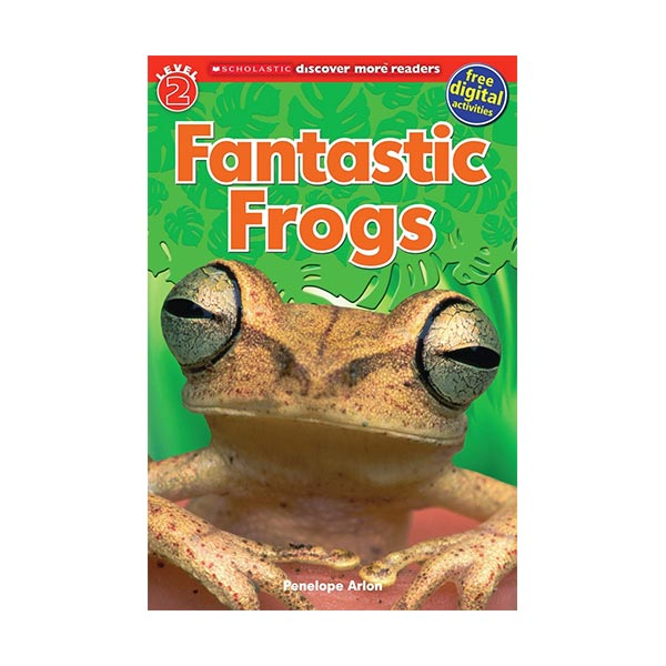 RL 3.2 : Scholastic Discover More Reader Level 2 : Fantastic Frogs (Paperback)
