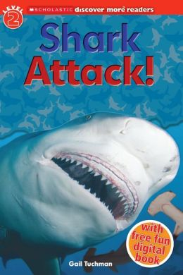 RL 3.2 : Scholastic Discover More Reader Level 2 : Shark Attack! (Paperback)