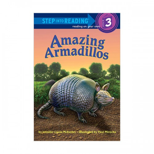 RL 3.2 : Step Into Reading 3 : Amazing Armadillos (Paperback)