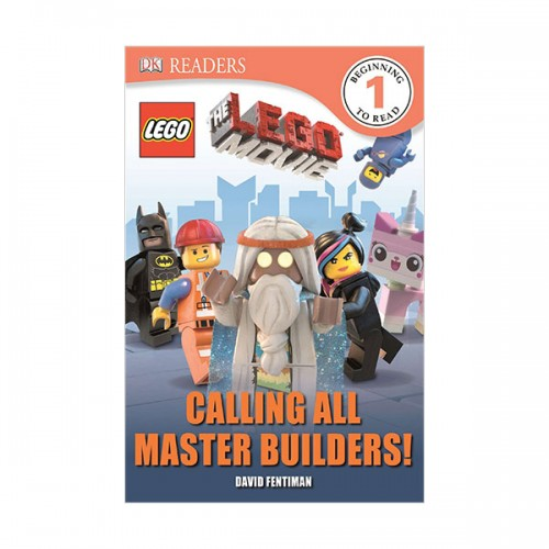 RL 3.3 : DK Readers L1: The LEGO Movie: Calling All Master Builders! (Paperback)