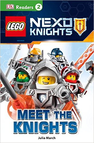 RL 3.3 : DK Readers Level 2 : LEGO NEXO KNIGHTS : Meet the Knights (Paperback)