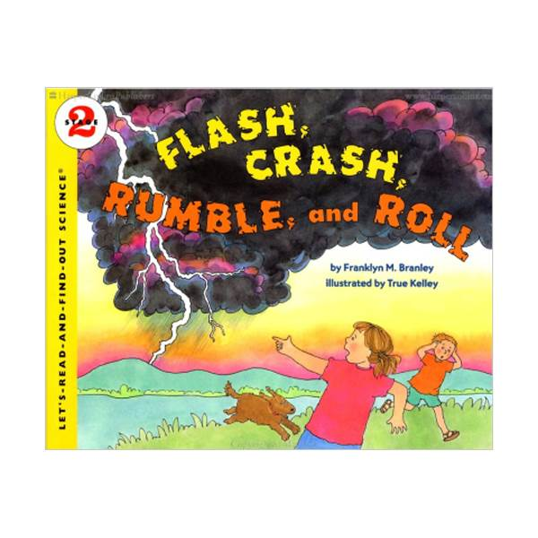 RL 3.3 : Let's Read And Find Out Science 2 : Flash, Crash, Rumble, and Roll (Paperback)