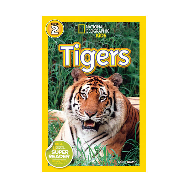 RL 3.3 : National Geographic Readers Series Level 2: Tigers (Paperback)