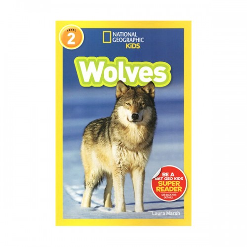 RL 3.3 : National Geographic Readers Series Level 2: Wolves (Paperback)