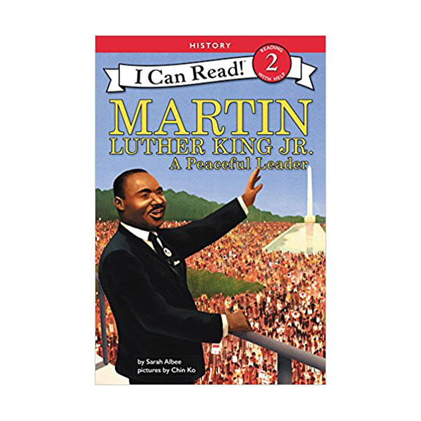 RL 3.4 : I Can Read Book Level 2 : Martin Luther King Jr.: A Peaceful (Paperback)