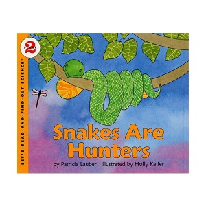RL 3.4 : Let's Read And Find Out Science 2 : Snakes Are Hunters (Paperback)