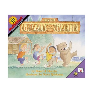 RL 3.4 : Mathstart Level 3 : The Grizzly Gazette (Paperback)