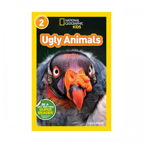 RL 3.4 : National Geographic Kids Readers Level 2 : Ugly Animals (Paperback)