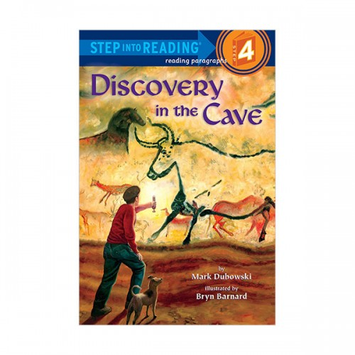 RL 3.4 : Step Into Reading 4 : Discovery in the Cave (Paperback)