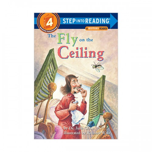 RL 3.4 : Step into Reading 4 : The Fly on the Ceiling : A Math Reader (Paperback)