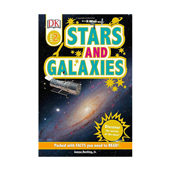 RL 3.5 : DK Readers Level 2 : Stars and Galaxies (Paperback)
