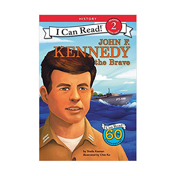 RL 3.5 : I Can Read Book Level 2 : John F. Kennedy the Brave (Paperback)
