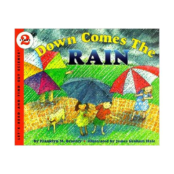 RL 3.5 : Let's Read And Find Out Science 2 : Down Comes the Rain (Paperback)
