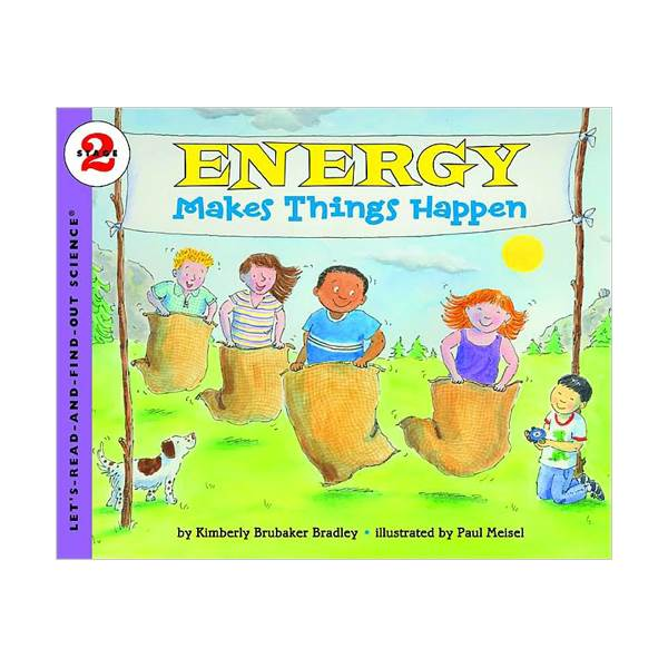 RL 3.5 : Let's Read And Find Out Science 2 : Energy Makes Things Happen (Paperback)