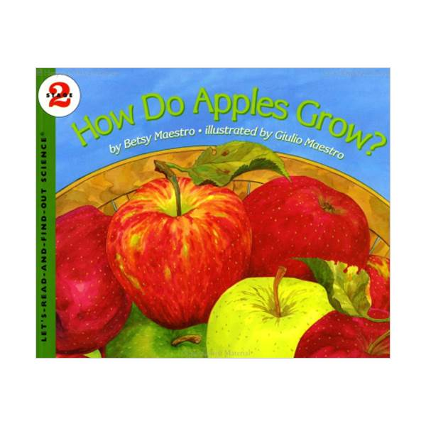 RL 3.5 : Let's Read And Find Out Science 2 : How Do Apples Grow (Paperback)