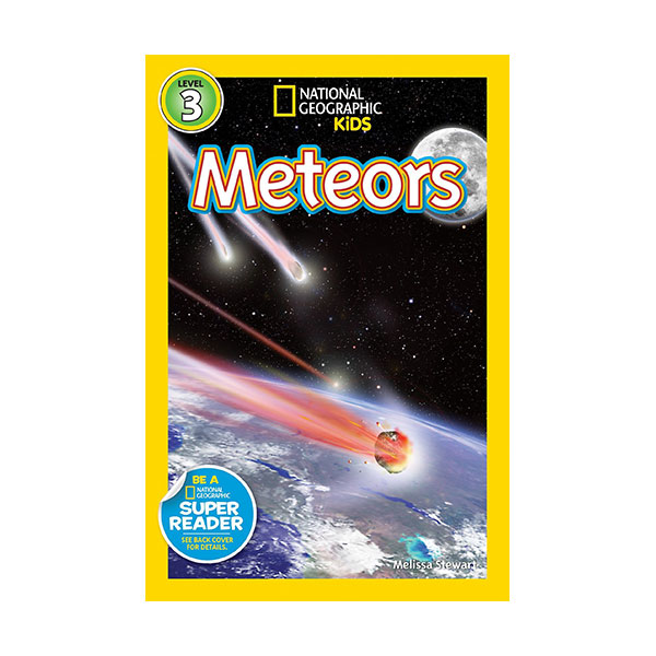 RL 3.5 : National Geographic Kids Readers Level 3 : Meteors (Paperback)