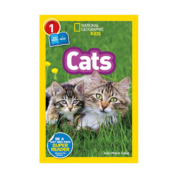 National Geographic Readers 1 : Co-readers : Cats (Paperback)