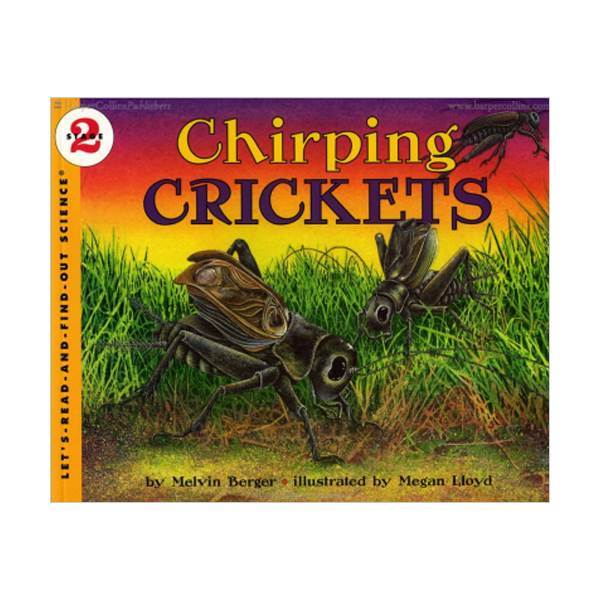 RL 3.6 : Let's Read And Find Out Science 2 : Chirping Crickets (Paperback)