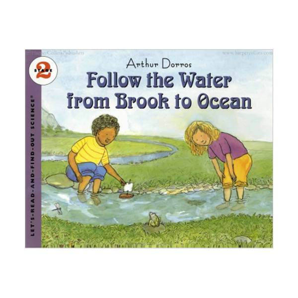 RL 3.6 : Let's Read And Find Out Science 2 : Follow the Water from Brook to Ocean (Paperback)