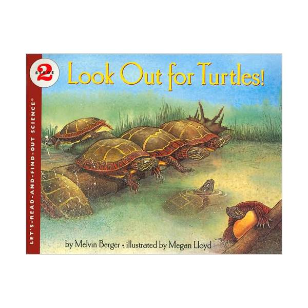 RL 3.6 : Let's Read And Find Out Science 2 : Look Out for Turtles (Paperback)