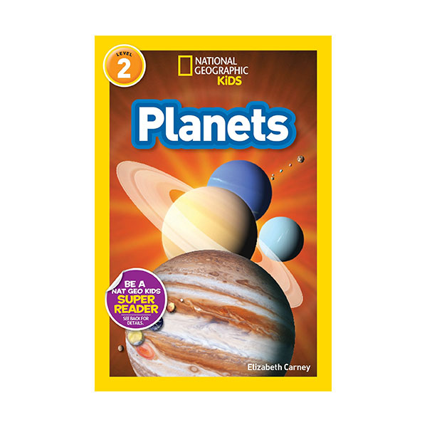 RL 3.6 : National Geographic Kids Readers Level 2 : Planets (Paperback)