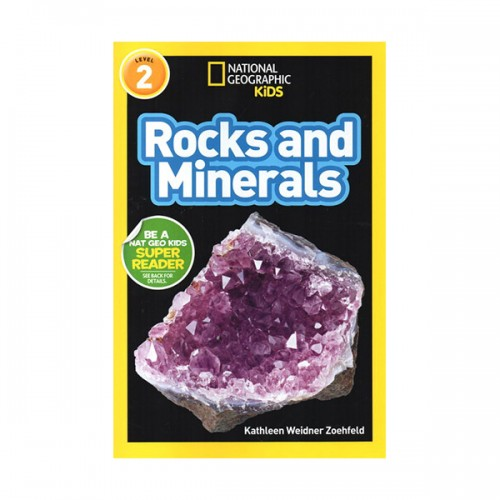 RL 3.6 : National Geographic Readers Level 2 : Rocks and Minerals (Paperback)