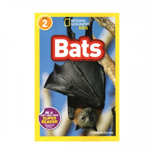 RL 3.6 : National Geographic Readers Series Level 2 : Bats! (Paperback)