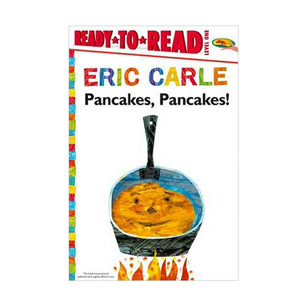 RL 3.6 : Ready to Read 1 : Pancakes, Pancakes! : World of Eric Carle Series (Paperback)