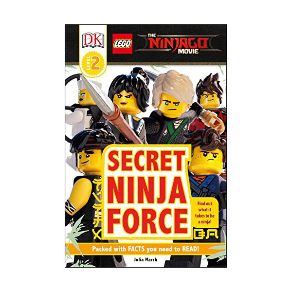 RL 3.7 : DK Readers Level 2 : The LEGO NINJAGO MOVIE : Secret Ninja Force (Paperback)