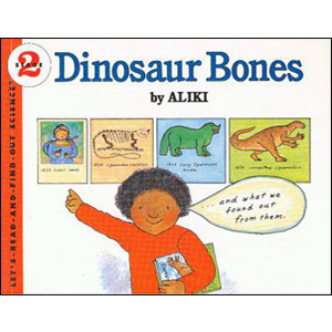 RL 3.7 : Let's Read And Find Out Science 2 : Dinosaur Bones (Paperback)