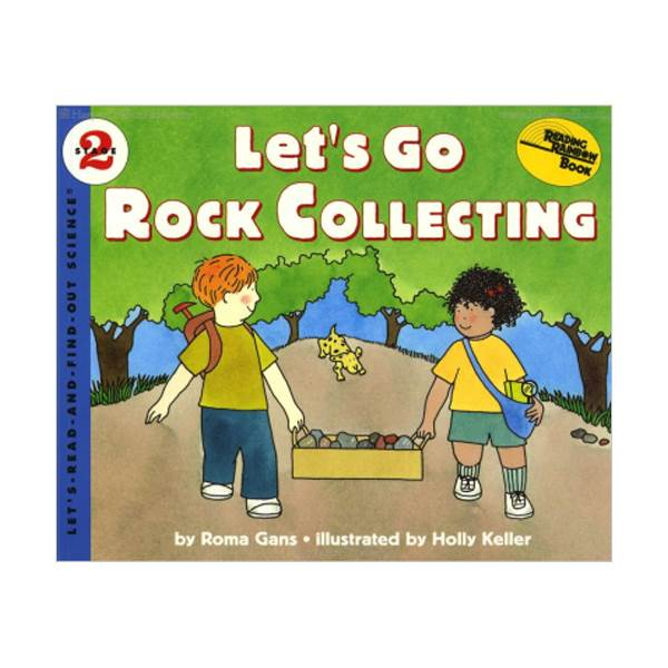 RL 3.7 : Let's Read And Find Out Science 2 : Lets Go Rock Collecting (Paperback)