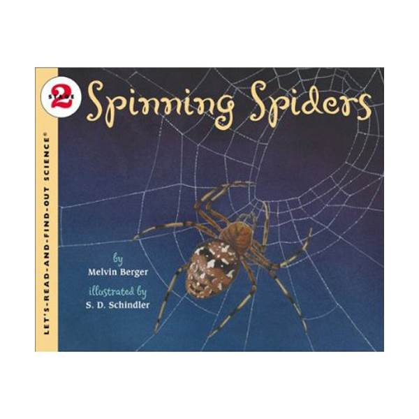 RL 3.7 : Let's Read And Find Out Science 2 : Spinning Spiders (Paperback)