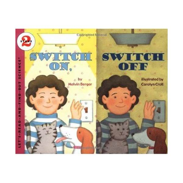 RL 3.7 : Let's Read And Find Out Science 2 : Switch On, Switch Off (Paperback)