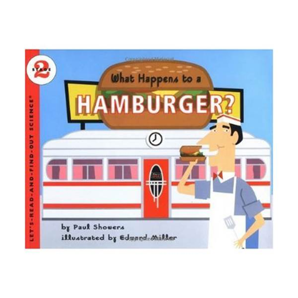 RL 3.7 : Let's Read And Find Out Science 2 : What Happens to a Hamburger? (Paperback)